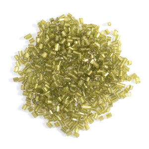 Extra Value Rocailles Beads: Lime Green: Packs of 30g