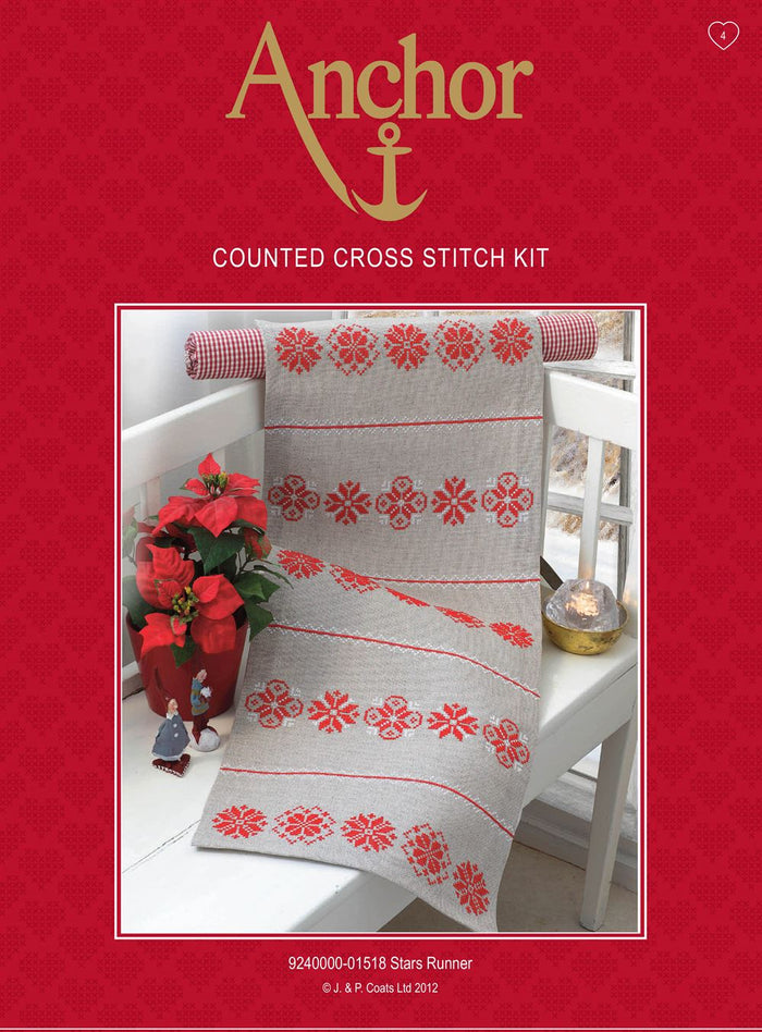 Cross Stitch Kit: Star: Runner