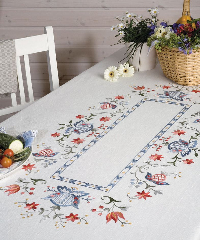 Embroidery Kit: Folklore: Tablecloth