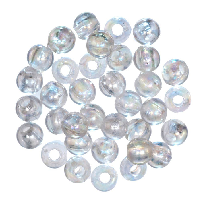 Extra Value Plated Beads: 5mm: Aurora: Packs of 200g