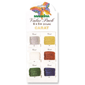 Value Pack: Carat: 6 x 5m x Carat (2mm)