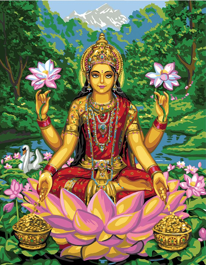 Canvas: Royal Paris: Lakshmi Devi