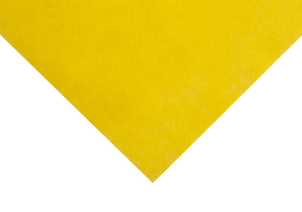 Felt: Acrylic: 1 Piece: 18 x 18 inch Yellow