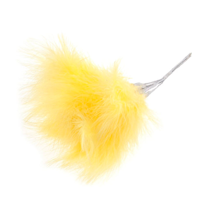 Feathers: Fluff Yellow