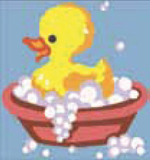 Tapestry Kit: Duck in the Bath