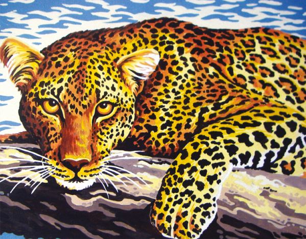 Tapestry Kit: Leopard
