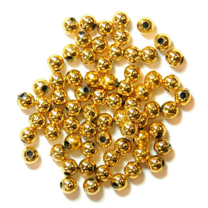 Pearls: 4mm: Gold: Packs of 7g