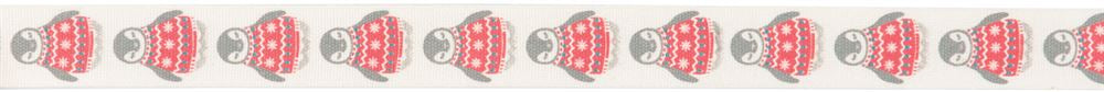 Bowtique Christmas: Christmas Penguin: 25m x 15mm