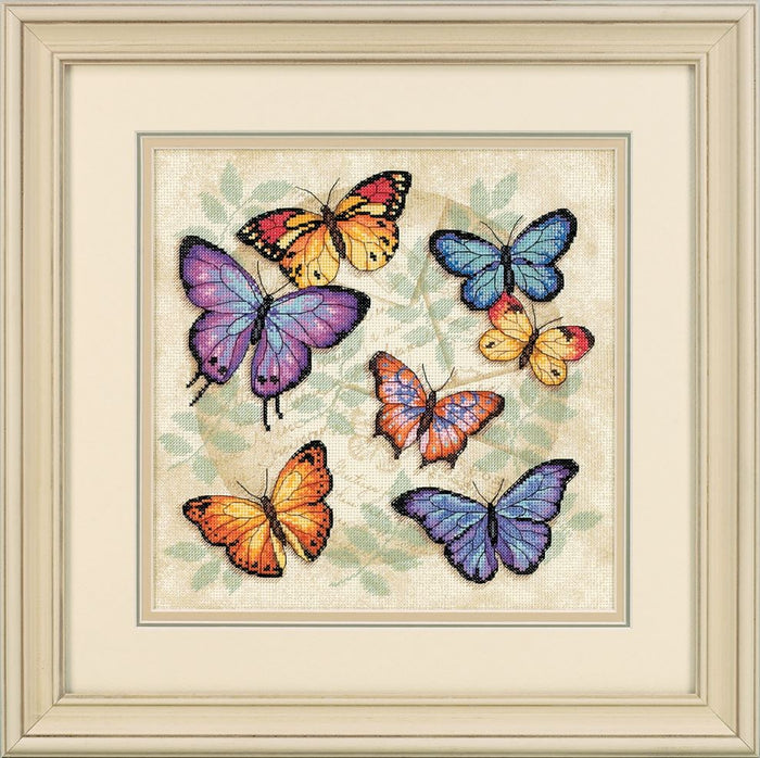 Counted Cross Stitch: Butterfly Profusion