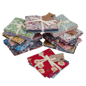 Assorted Fat Quarter Bundles:  6 Assorted Fat quaters