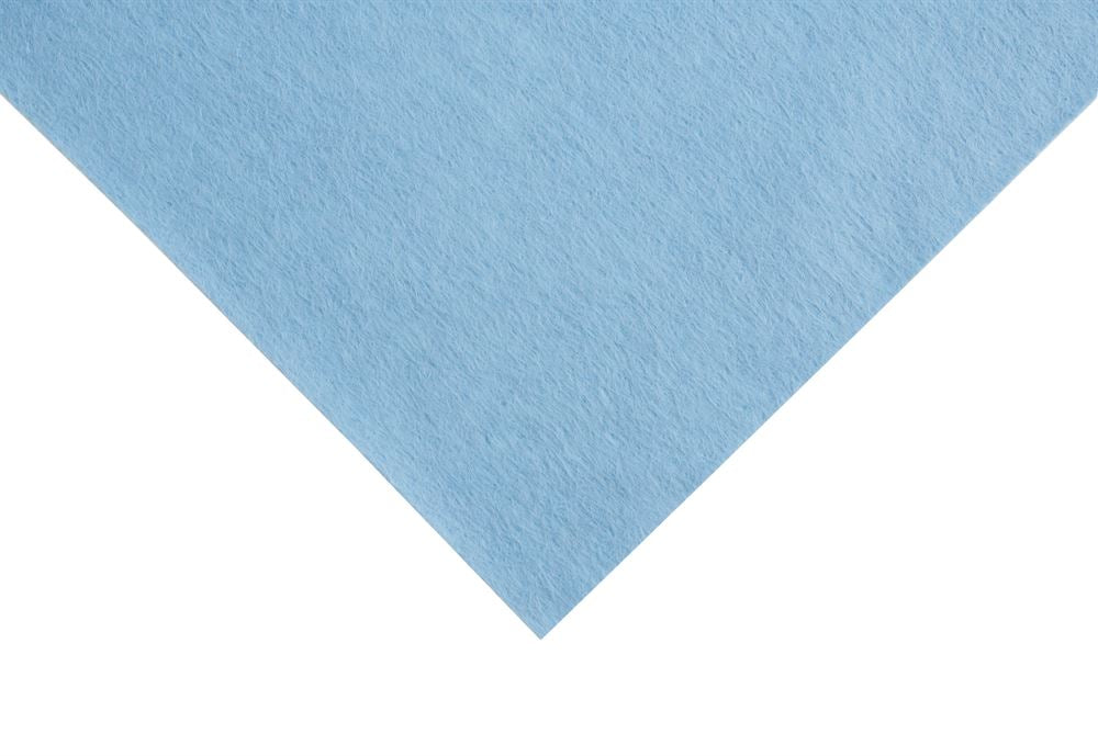 Felt: Wool: Roll: 5m x 180cm: Baby Blue