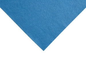 Felt: Wool: Roll: 5m x 180cm: Crystal Blue