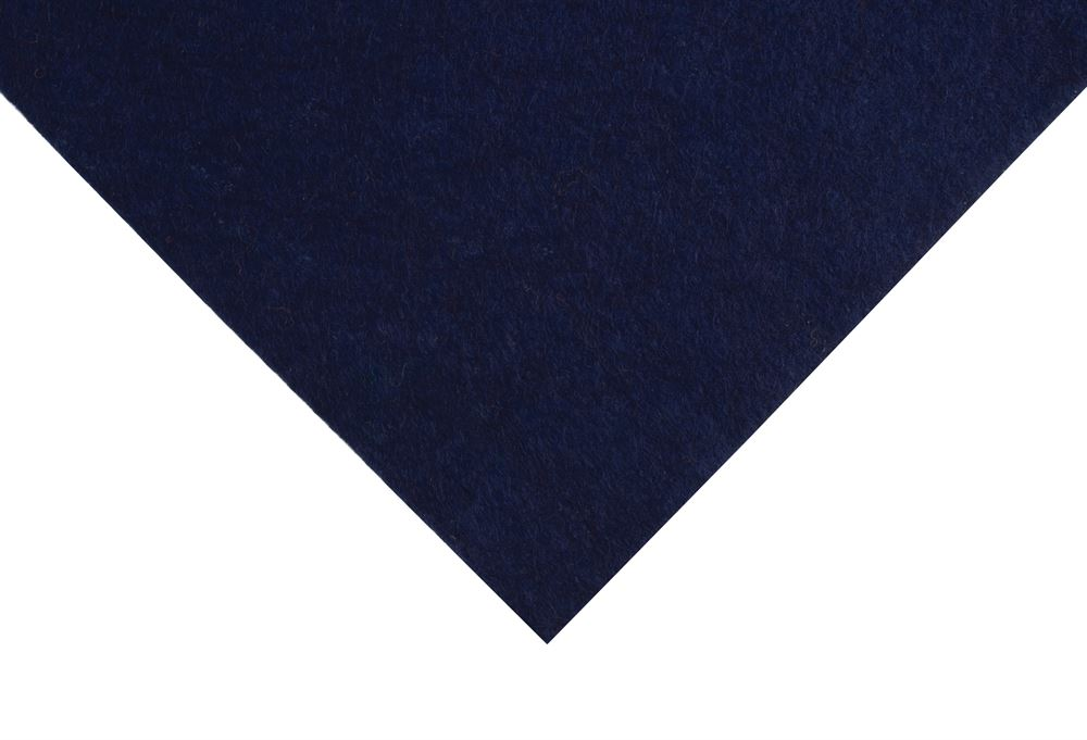 Felt: Wool: Roll: 5m x 180cm: Navy