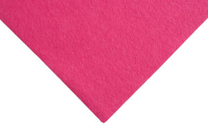 Felt: Wool: Roll: 5m x 180cm: Hot Pink