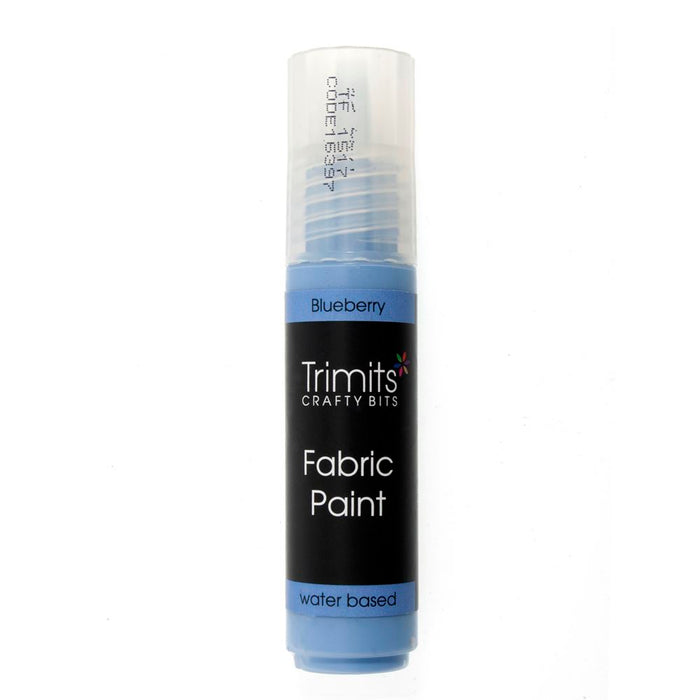 Fabric Paint: Pen: 20ml: Blueberry