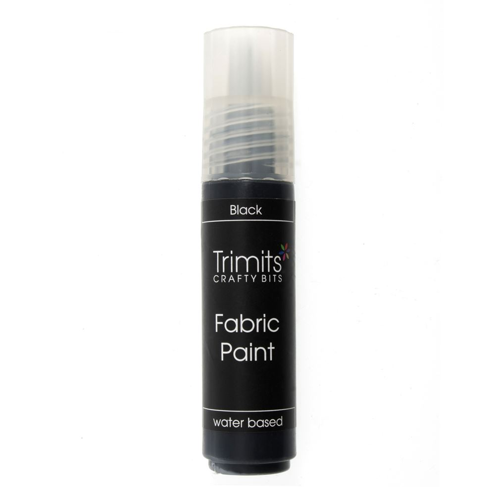 Fabric Paint: Pen: 20ml: Black
