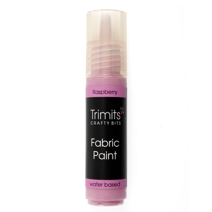 Fabric Paint: Pen: 20ml: Raspberry
