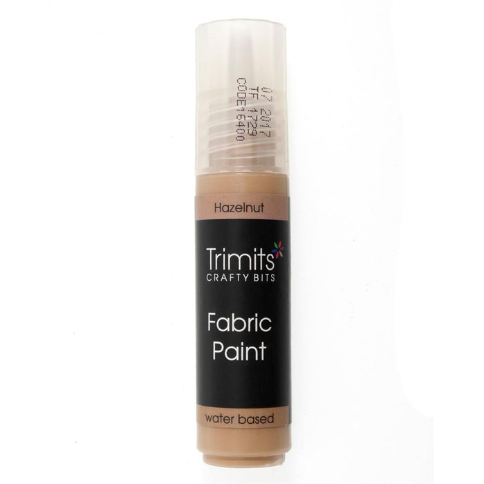 Fabric Paint: Pen: 20ml: Hazelnut