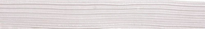 Braided Elastic 250m x 6mm: White