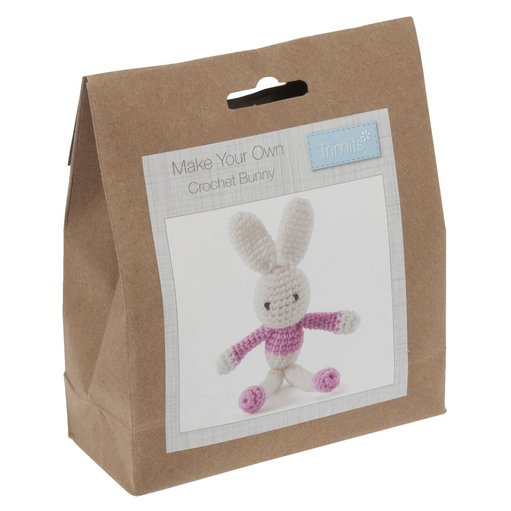 Crochet Kit: Bunny: Pink