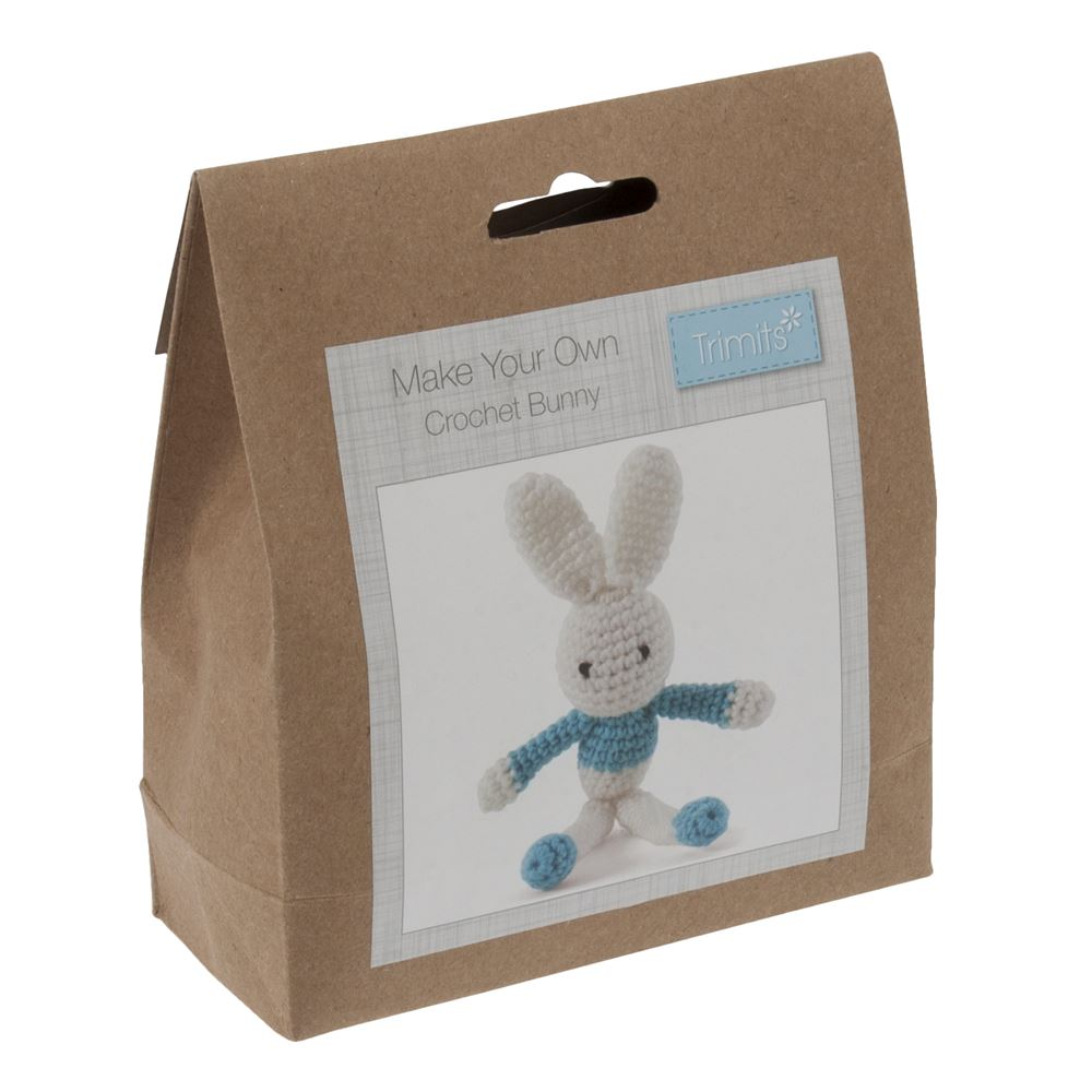 Crochet Kit: Bunny: Blue