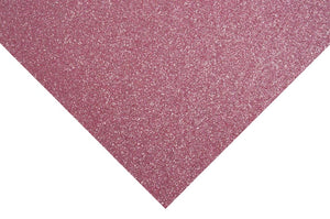 Glitter Felt Sheets: 30 x 23cm: Light Pink
