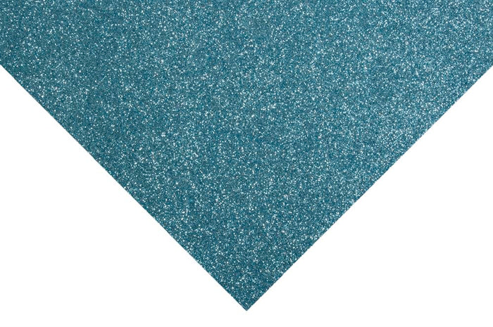 Glitter Felt Sheets: 30 x 23cm: Light Blue