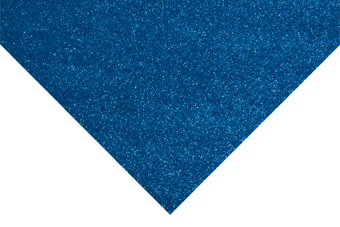 Glitter Felt Sheets: 30 x 23cm: Royal Blue