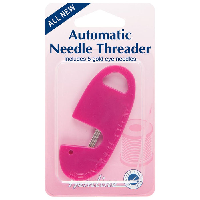 Needle Threader: Automatic & Needle Case