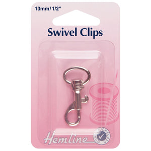 Swivel Clipl: 13mm: Nickel
