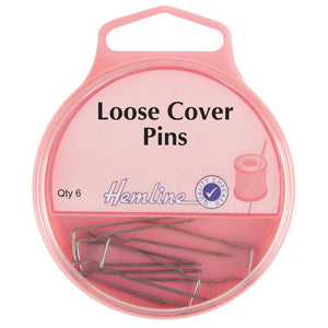 Loose Cover Pins: Nickel - 32mm, 6pcs
