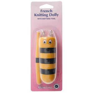 French Knitting Dolly with Tool