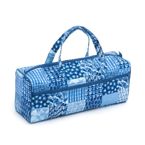 Classic Collection: Knitting Bag: Patchwork Denim