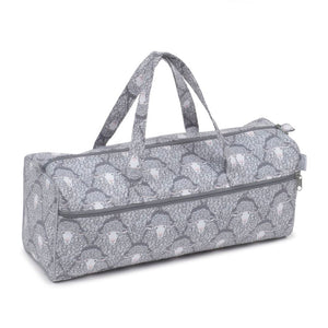 Classic Collection: Knit Bag: Grey Sheep