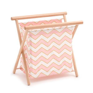 Classic Collection: Knit Sew: Chevron - Pearlised Blush