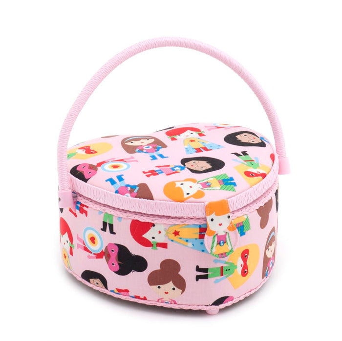 Classic Collection: Sewing Box (M): Heart Shaped: Supergirls