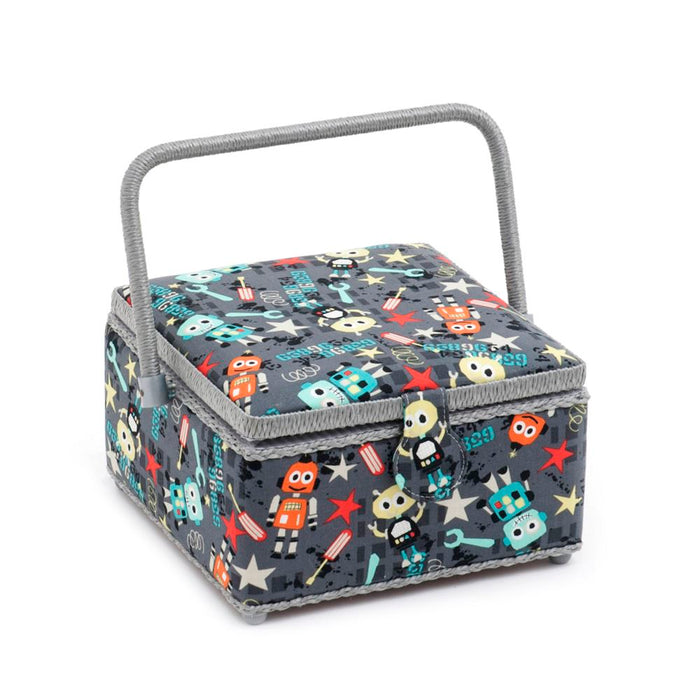 Classic Collection: Sewing Box (M): Square: Bot Boy