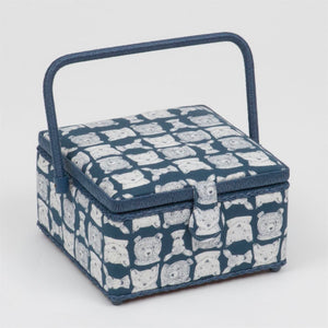 Classic Collection: Sewing Box (M): Square: Folkstone