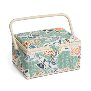 Classic Collection: Sewing Box (M): Floral Stab Stitch