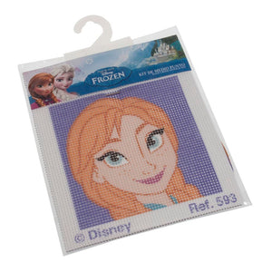 Cross Stitch Kit: Disney: Ana from Frozen