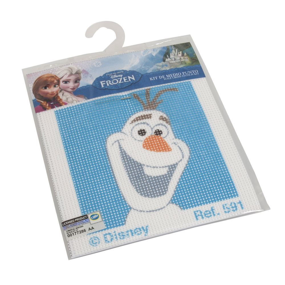 Cross Stitch Kits: Disney: Olaf from Frozen