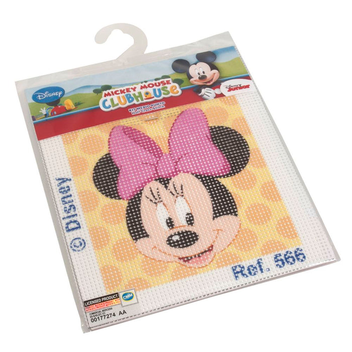 Cross Stitch Kits: Disney: Minnie Mouse Polka Dot
