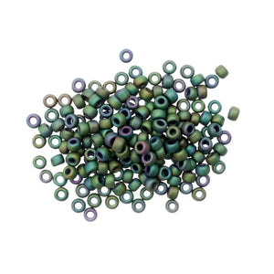 Knit/Crochet Beads Size 6/0: Juniper Green