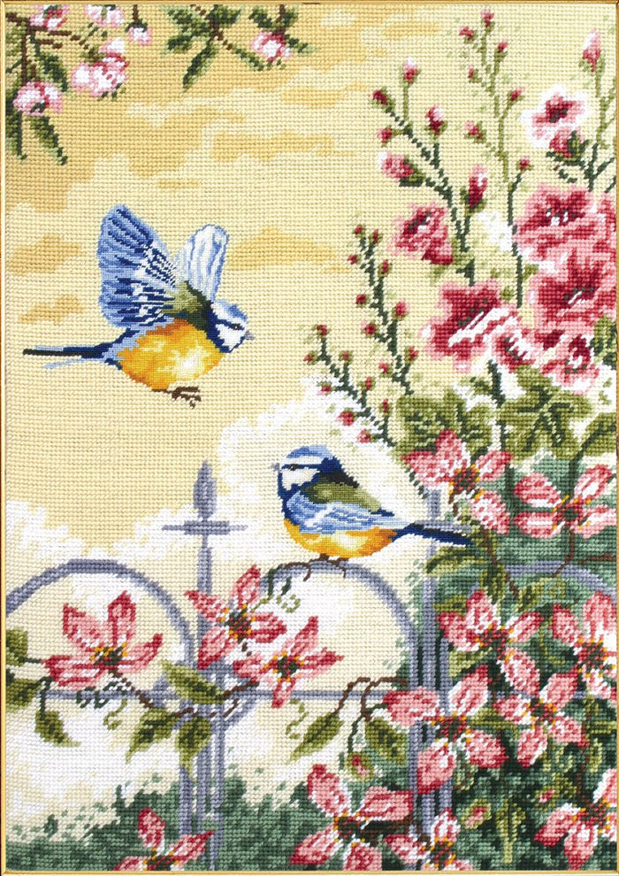 Tapestry Kit: Floral Railings
