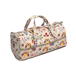 Groves Excl. Print Collection: Knitting Bag: Owl