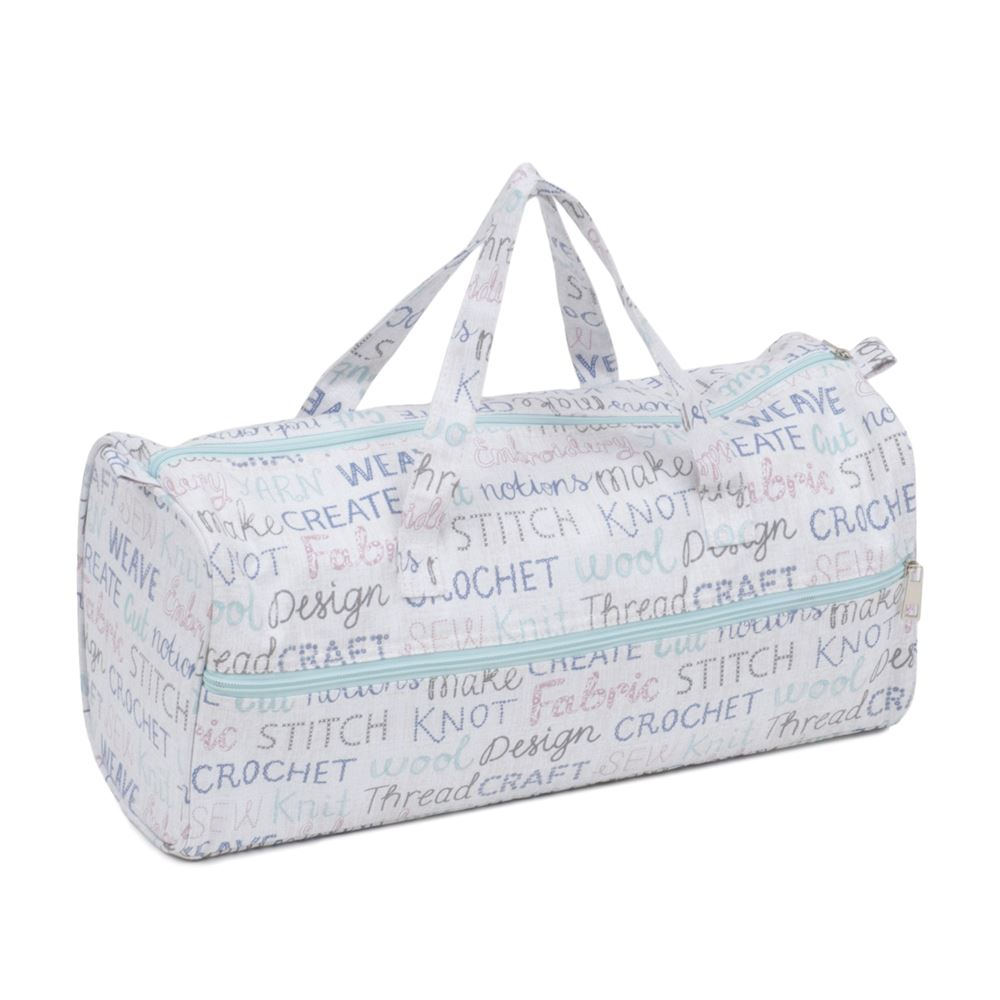 Groves Excl. Print Collection: Knit Bag: Haby Words