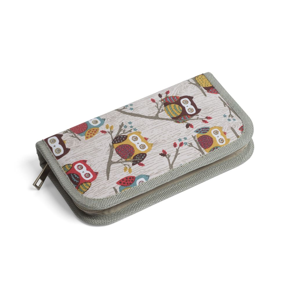 Groves Excl. Print Collection: Crochet Hook Case: Filled: Hoot
