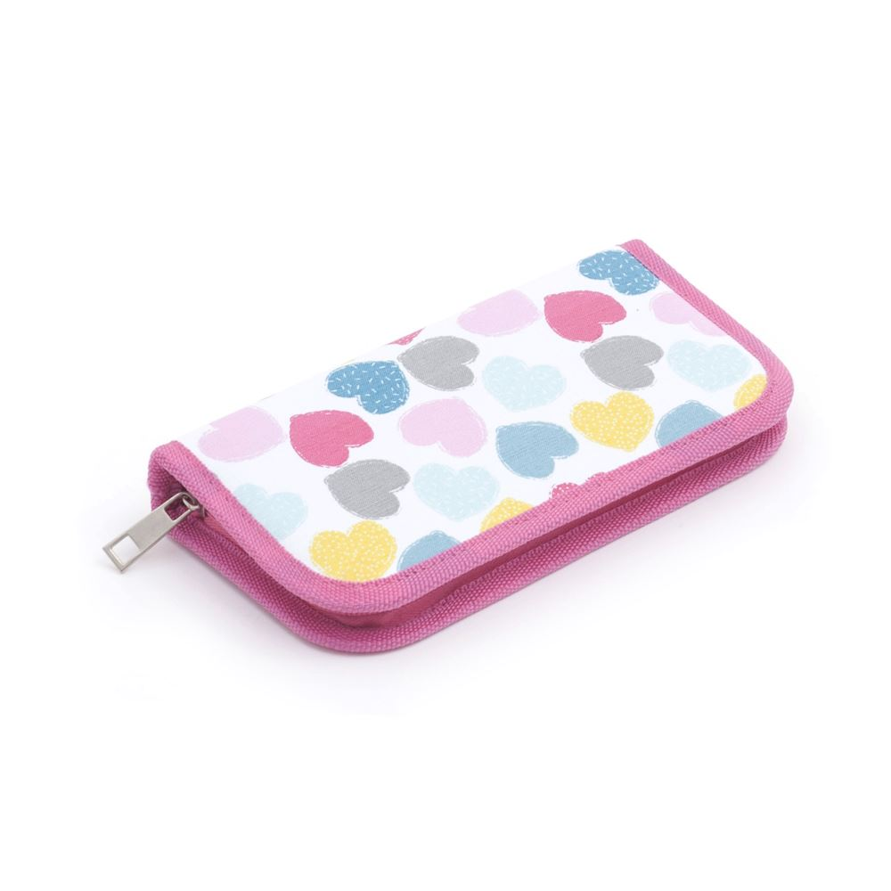 Groves Excl. Print Collection: Crochet Hook Case: Filled with Soft Grip Hooks: Love