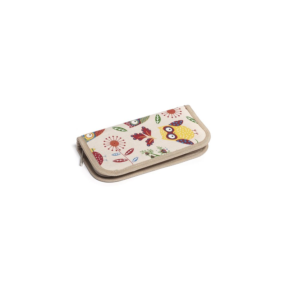 Groves Excl. Print Collection: Crochet Hook Case: Filled with Bamboo Hooks: Owl