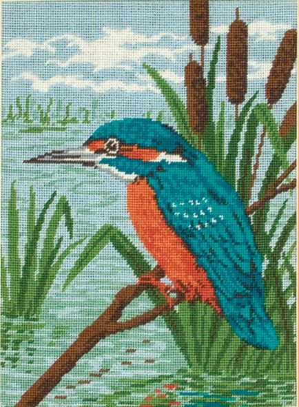 Tapestry Kit: Kingfisher